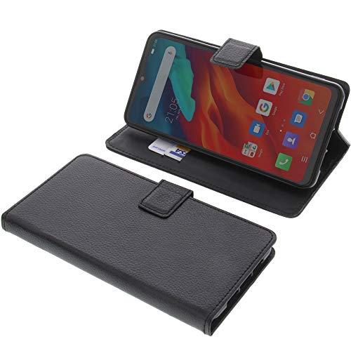 foto-kontor Tasche für Blackview A80 PRO Book Style schwarz Schutz Hülle Buch