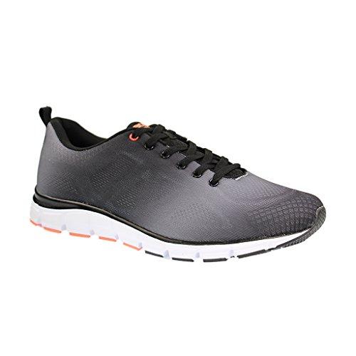 Boras Sneaker in Übergrößen Schwarz 5201-0114 große Herrenschuhe, Größe:49