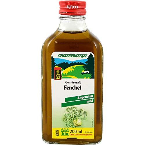 Schoenenberger Naturreiner Gemüsesaft Fenchel, 200 ml Lösung