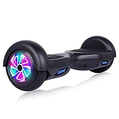 "JOLEGE Hoverboard 6.5"" Self Balancing Hover Board with LED Lights Two-Wheel Self Balancing Hoverboard with UL2272 Certified"