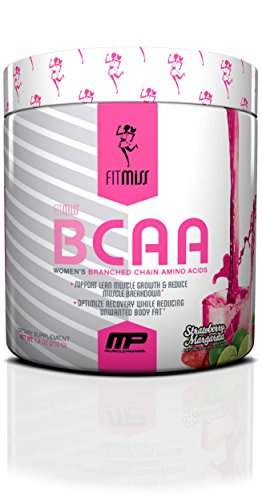 FitMiss Women's BCAA Powder, 6 Grams of BCAA Amino Acids,...
