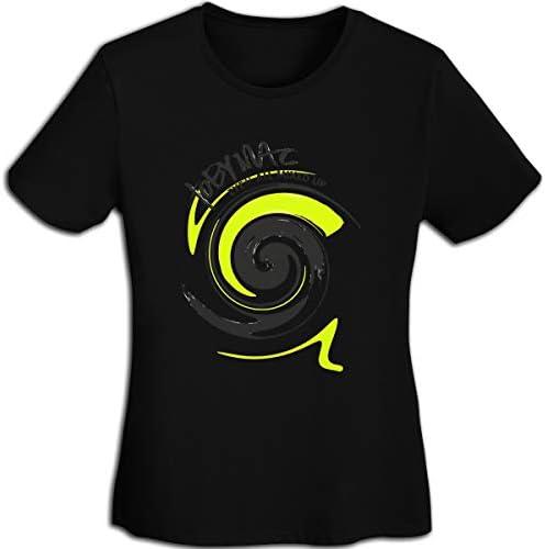 BEIJDGWHGS Aew Womens Fashion Trend Slim Fit Comfortable Round Neck Short Sleeve T-Shirt Black