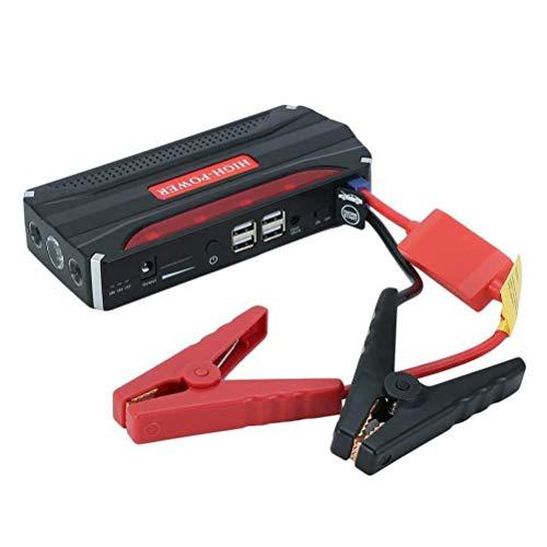Arrancador de Coches 68800mAH,Arrancador de Baterias de Coche 12V Pinzas Bateria Coche con 4 modos de luz LED Cargadores de Herramientas Eléctricas Portátiles
