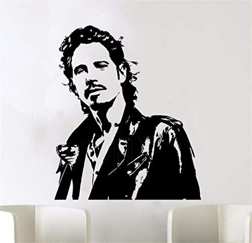 Wandtattoo Wohnzimmer Chris Cornell Poster Wandkunst Aufkleber Soundgarden Band Aufkleber Für Wohnzimmer Schlafzimmer