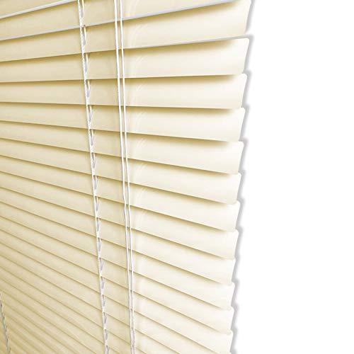 ZXXL Persianas Persiana Veneciana de Aluminio de 25mm, 85cm / 95cm / 105cm / 115cm / 125cm de Ancho Persianas de Ventana Horizontales, Fácil de Instalar (Size : 115×180cm)