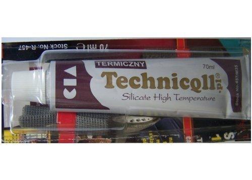 1 x Hochtemperatur-Kleber 1200 °C für Abluftkaminöfen, Sammler, 70 ml