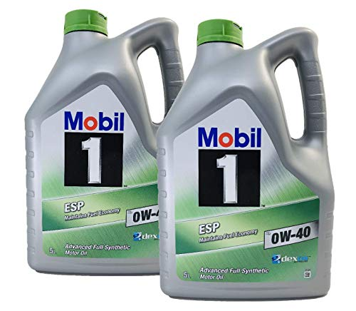 Mobil 1 Motorschmieröl ESP X3 0W-40 Dexos 2, Packung 10 Liter