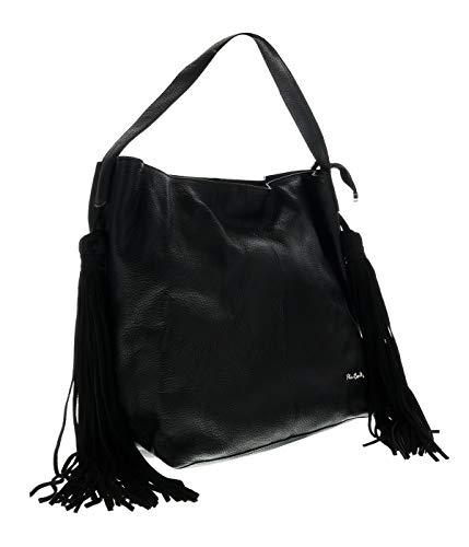 Pierre Cardin 1715 NERO Black Tote Handbags for womens