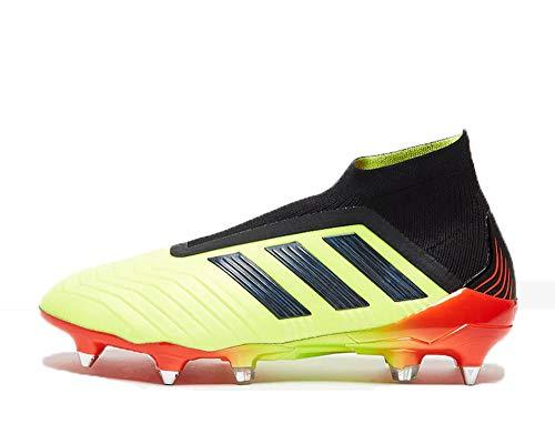 adidas Herren Predator 18+ Sg Fußballschuhe, Gelb (SYELLO/Cblack/Solred SYELLO/Cblack/Solred), 46 EU