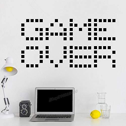 WERWN Arte Creativo Moda Diseño Moderno Etiqueta de la Pared Etiqueta del Jugador Decoración de la Sala de Juegos