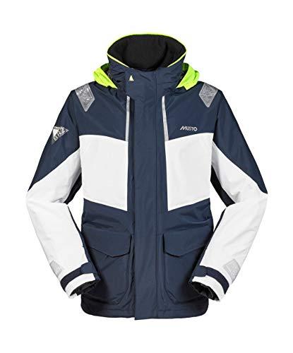 Musto Herren Br2 Coastal Coat Jacket Mantel True Navy. Wasserdicht und atmungsaktiv