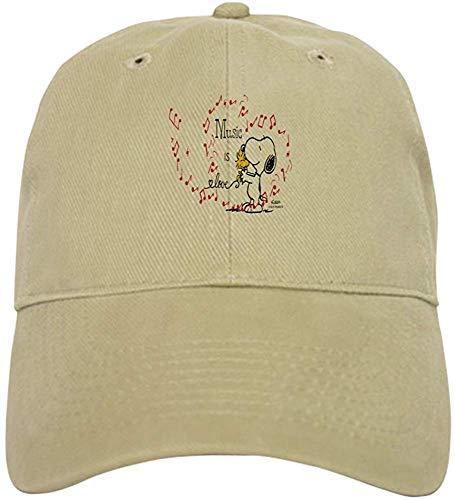 Tooyoo8 Snoopy - Music is Love Baseball Cap