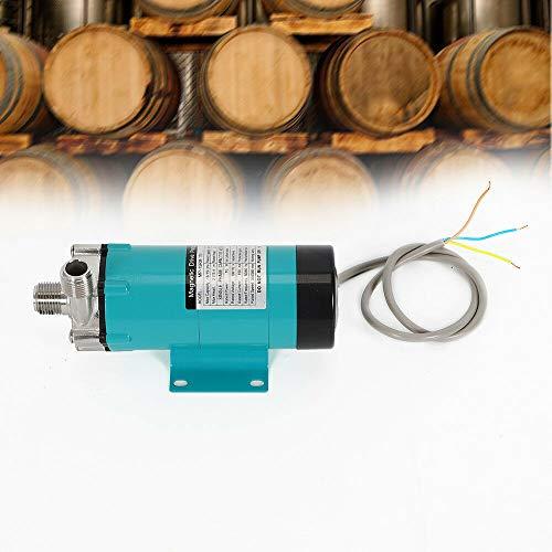 Bomba de cerveza – 1/2 'Cerveza Home Brewing, bomba magnética de acero inoxidable, resistente a altas temperaturas, para la bomba de agua magnética de Homebrew (19 LPM/5 GPM, 2800 RPM)