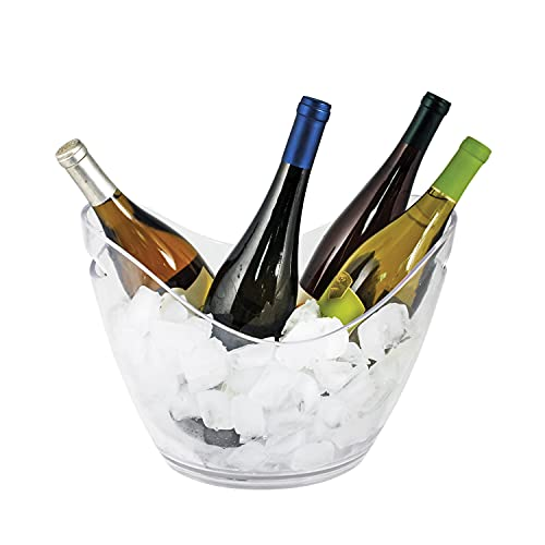 True glass-ice-buckets