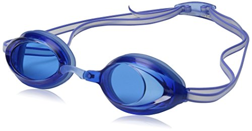 Speedo Unisex-Child Swim Goggles Vanquisher 2.0 Junior Blue, One Size