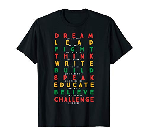 Black History Month African American Country Celebration T-Shirt