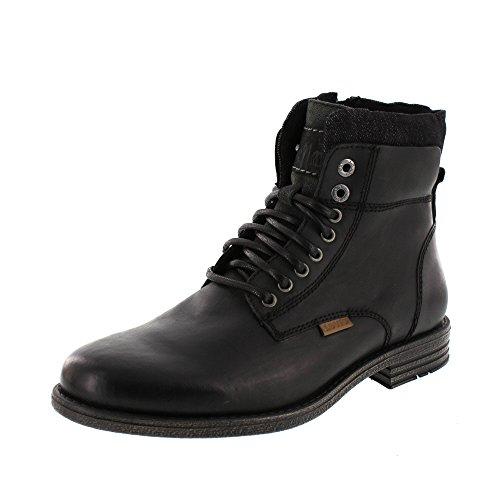 Levis Emerson - Herren Schuhe Stiefel Schnürschuhe Boots - 226767-700 59-Black, Größe:41 EU
