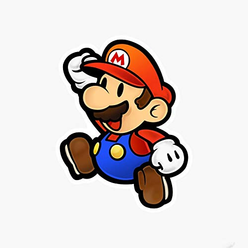 Anime Stickers Super Mario Koffer Aufkleber Trolley Case Sticker Laptop Cartoon Aufkleber Wasserdicht Grau Kleber Aufkleber