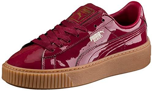 Puma Basket Platform Patent W Schuhe Tibetan red