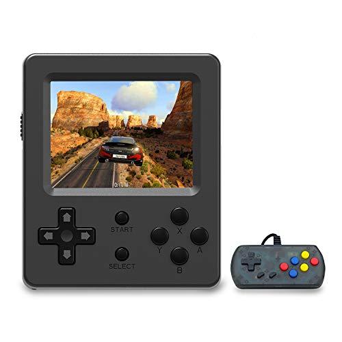 Anbernic Console di Giochi Portatile , Console di Giochi Retro Game Console 3.0 Pollice 520 Classic Giochi ,TV Output Videogioco Portatile per Genitori dei Bambini Amici - Nero
