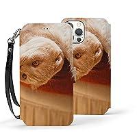 動物 ネコ Iphone 12 ケース(12/12pro/12mini/12pro Max)Iphone12カバー 手帳型 カード収納 ポケット付き 軽量 Puレザー【衝撃吸収 全面保護 角度調節 横置きスタンド機能】