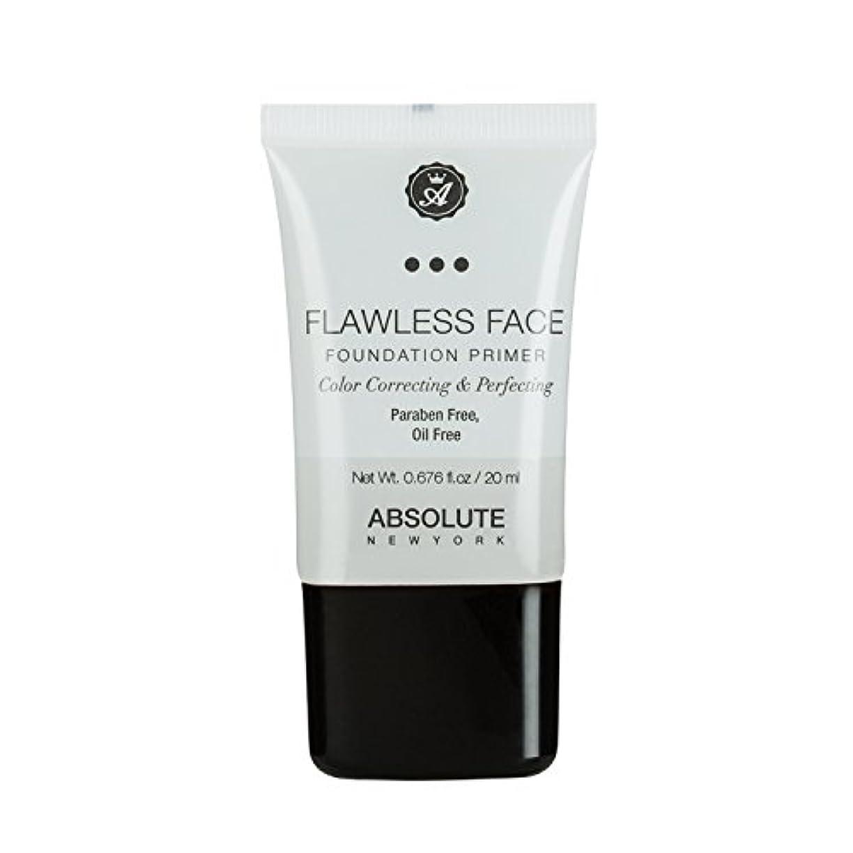 貯水池カエル変装した(3 Pack) ABSOLUTE Flawless Foundation Primer - Clear (並行輸入品)
