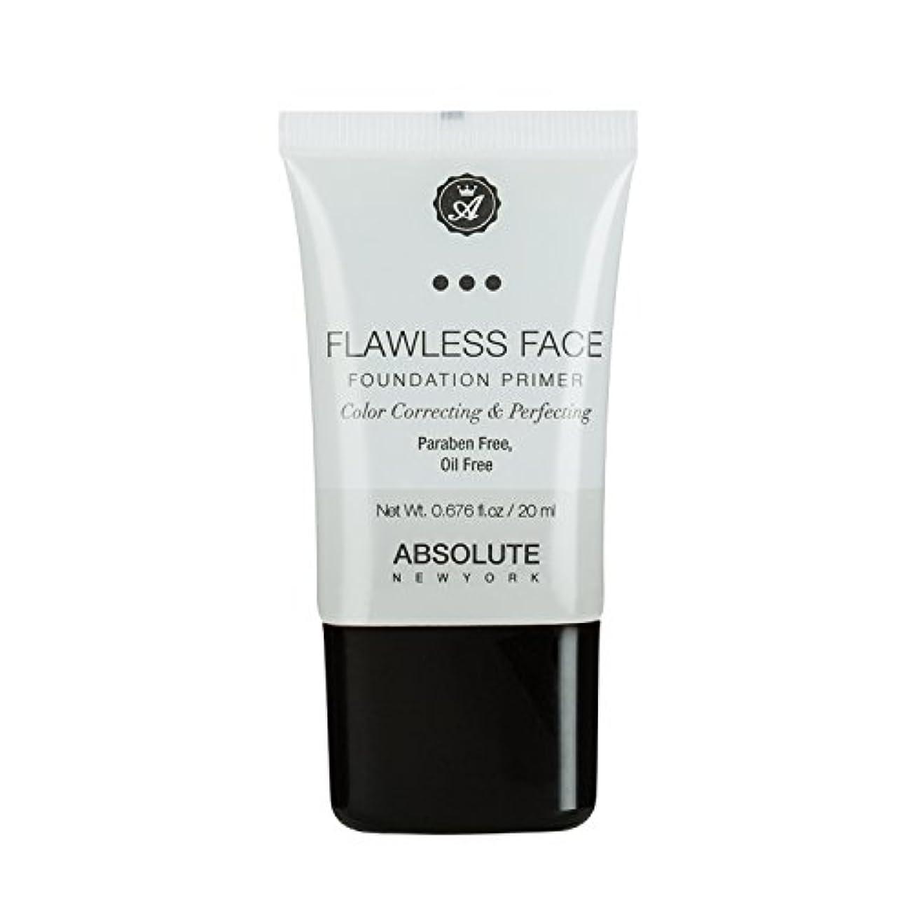賢明な韓国電池(3 Pack) ABSOLUTE Flawless Foundation Primer - Clear (並行輸入品)