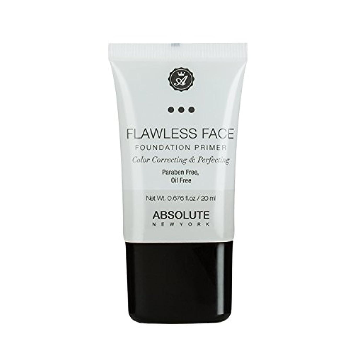 育成寝具相反する(3 Pack) ABSOLUTE Flawless Foundation Primer - Clear (並行輸入品)