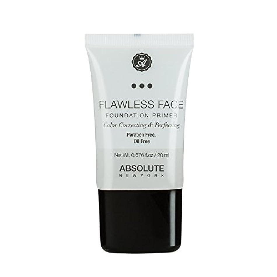 従来の住む旅客(3 Pack) ABSOLUTE Flawless Foundation Primer - Clear (並行輸入品)