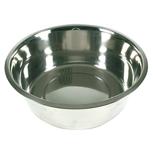 ARQUIVET Comedero, Bebedero acero inoxidable para perro o gato - Recipiente comida para mascotas - Plato alimentador de cerámico para perros y gatos - Cuenco para perros y gatos - 750 ml / 16 cm