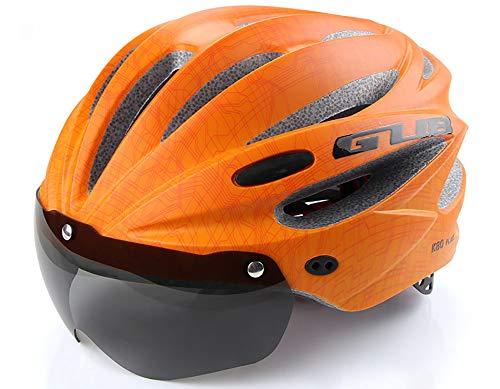 GUB K80 Plus Casco De Bicicleta con Gafas De Viento, Gafas De...