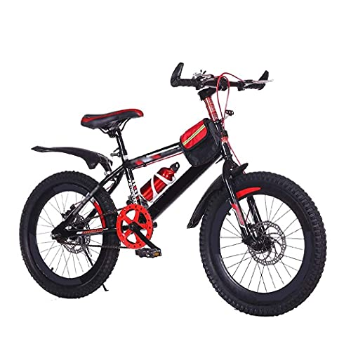 HUAQINEI Bicicleta Bicicleta Exterior para niños de 20 Pulgadas con 7 velocidades Ajustable, Adecuada para niños y niñas de 9 a 14 años.Bicicleta de montaña Infantil Ajustable, Azul