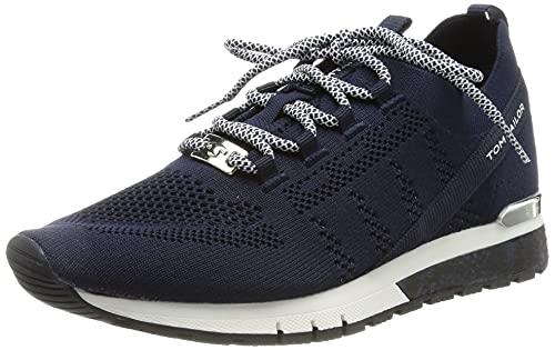 TOM TAILOR Damen 1191101 Sneaker, Navy, 39 EU