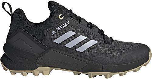adidas Women's Terrex Swift R3 Hiking Shoe, Core Black/Halo Silver/DGH Solid Grey - 8
