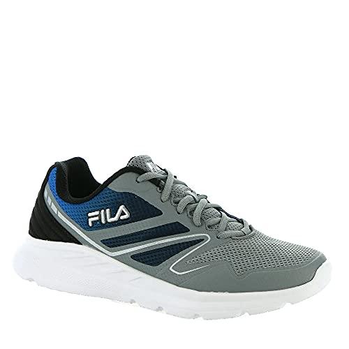 Fila Memory Panorama 8 Men's Running 9.5 D(M) US Grey-Black-Electric Blue