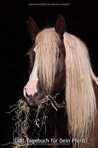 Diät Tagebuch für Dein Pferd: Softcover, 120 Seiten, übersichtliche Vorlage, 6x9