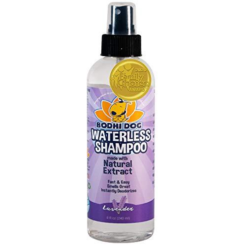 All Natural Dry Dog Shampoo