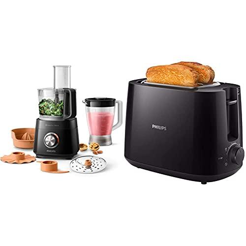 Philips HR7510/00 Küchenmaschine Viva...