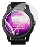 atFoliX Lámina Protectora de plástico Cristal Compatible con Matrix PowerWatch Película Vidrio, 9H Hybrid-Glass FX Protector Pantalla Vidrio Templado de plástico