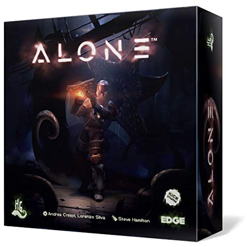 Edge Entertainment- Alone - Juego de Mesa Castellano, Color (EEHGAL01)