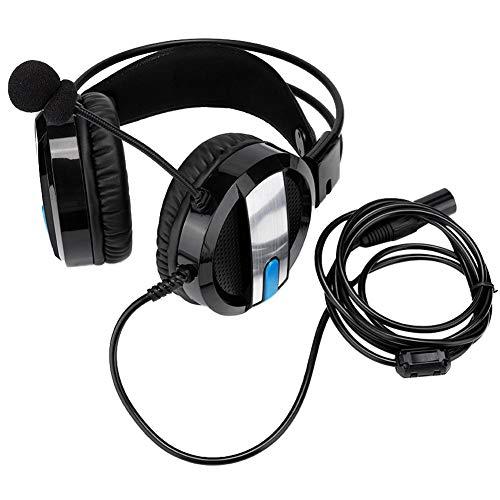 Garsent Aviation Pilot Headset, Noise Reduction On Ear-Kopfhörer mit winddichtem Schaummikrofon und verstellbarem Kopfbügel