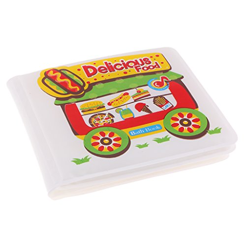 HomeDecTime Hora Del Baño Libros Bebé Niños Educativos Aprender Juguetes Flotante Plástico...