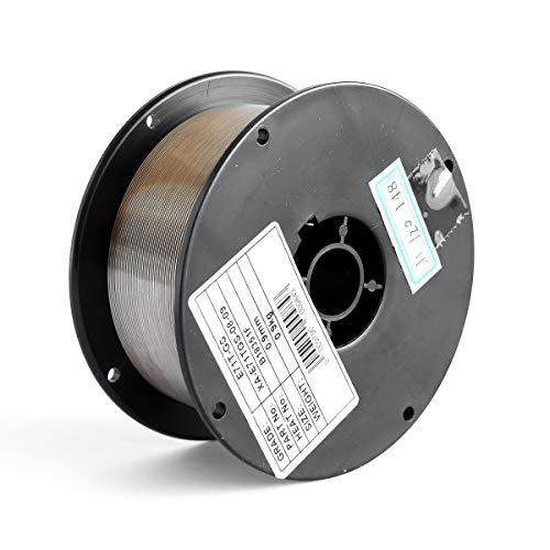Bobina di filo animato ∅ 0,9mm, 0,9 Kg in acciaio E71T-GS per saldatura MIG no gas