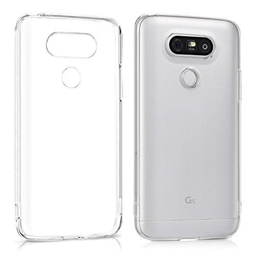 kwmobile Cover Compatibile con LG G5   G5 SE - Custodia Morbida in Silicone TPU - Crystal Case Custodia Flessibile - Trasparente