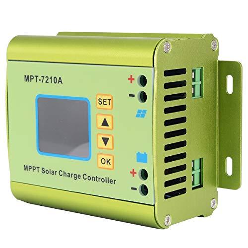 ADUCI Controlador / 36/48/60 / 72V Boost for Solar Controller Regulatir 1pc LCD Display MPT-7210A MPPT del Panel Solar de Carga 24 Batería