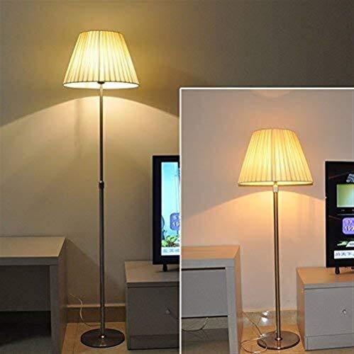 BINGFANG-W Dormitorio Led Creativo Salón Dormitorio Oficina de Extensión de Acero Inoxidable Barra Decorativa Lámpara de pie, Eye-Cuidado Vertical luz del Piso Lámparas de pie