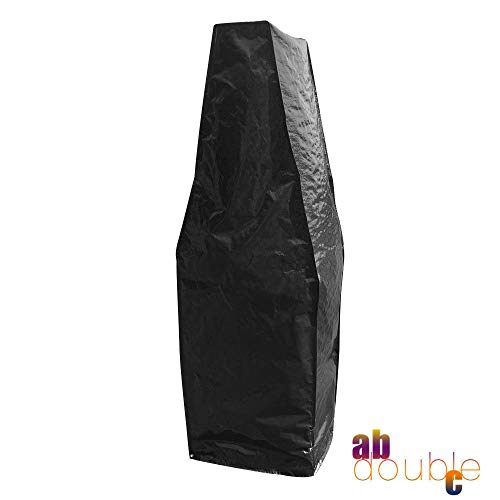 SWL-seller Outdoor Garden Waterproof Pizza Oven Cover Large Rainproof Cover Black Quality