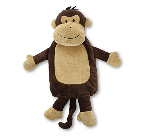 CityComfort Chocolate Monkey Kids Hot Water Bottle