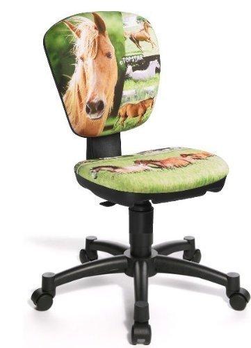 Topstar Kinder Drehstuhl Jet Pferd Horse, Schreibtischstuhl