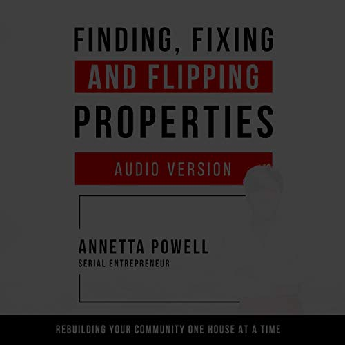 Finding, Fixing, and Flipping Properties cover art